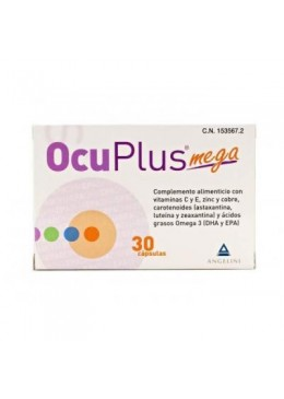 OCUPLUS MEGA 30 CAPSULAS 194097 COMPLEMENTOS NUTRICIONALES