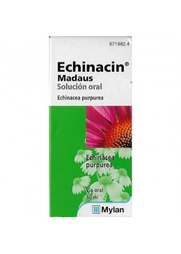 ECHINACIN MADAUS 800 MG/ML SOLUCION ORAL 50 ML 671982 Resfriados-Gripes-Tos