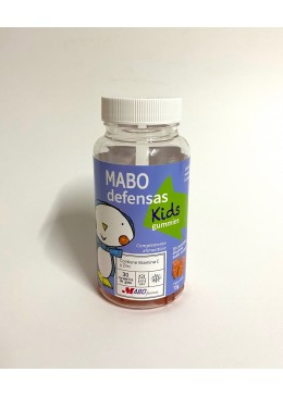 MABO DEFENSAS KID 30 GOMINOLAS SABOR NARANJA 010044 Defensas - Resfriado