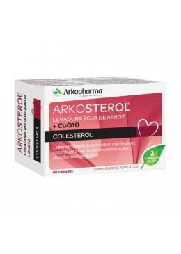 ARKOSTEROL LEVADURA ARROZ ROJO + Q10 60 CAPSULAS 179811 Colesterol- Ácidos grasos
