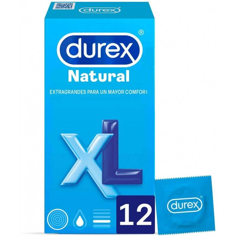 DUREX XL 12 U 167673 Preservativos