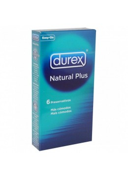 DUREX NATURAL PLUS 6 U 363184 Preservativos