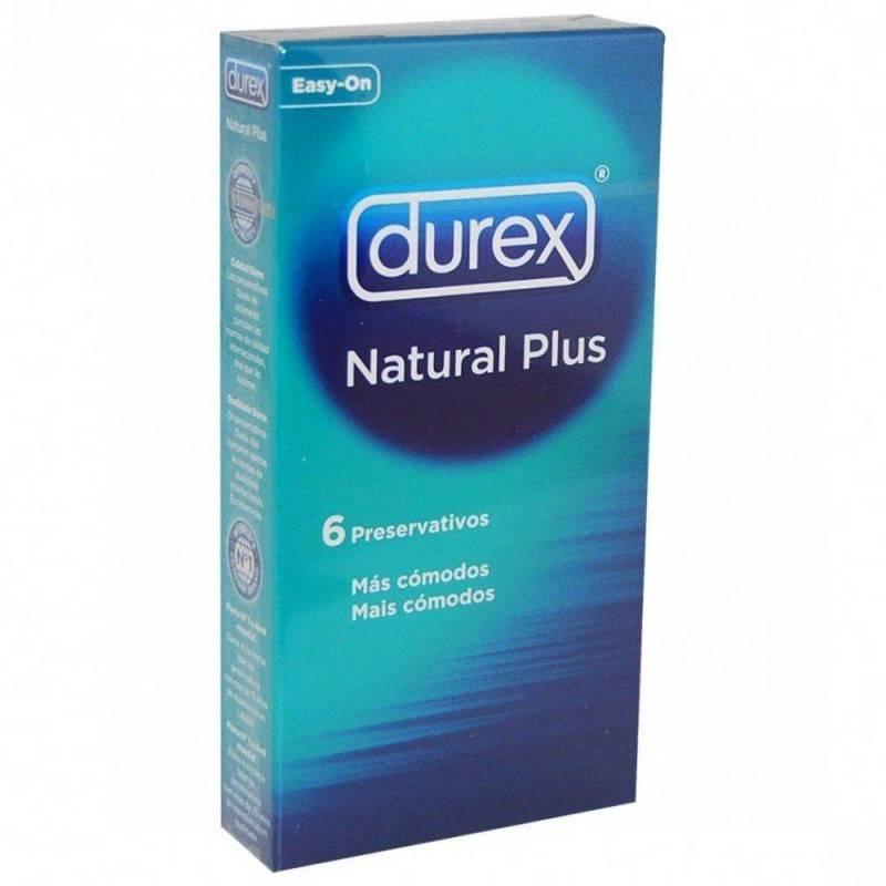 DUREX NATURAL PLUS 6 U 363184 Preservativos