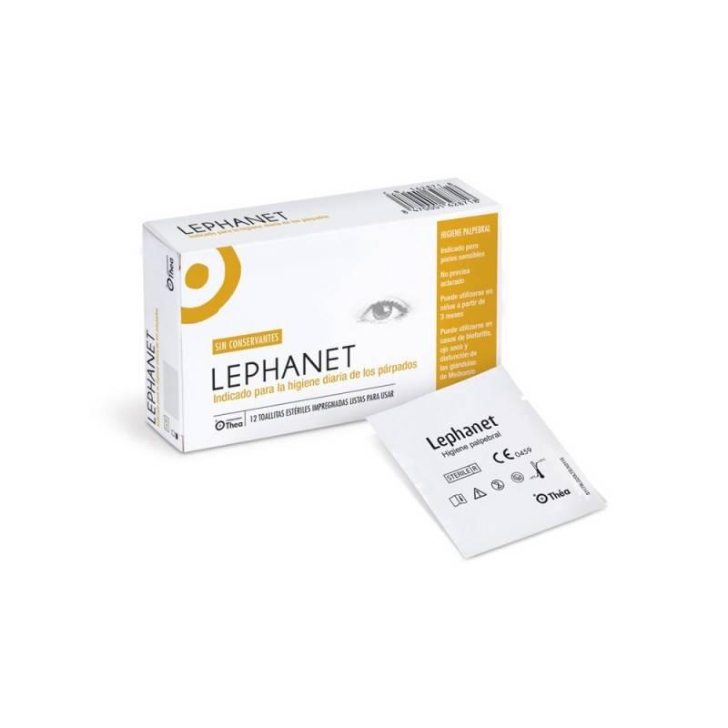 LEPHANET 12 TOALLITAS ESTERILES 162871 Hidratación e Higiene