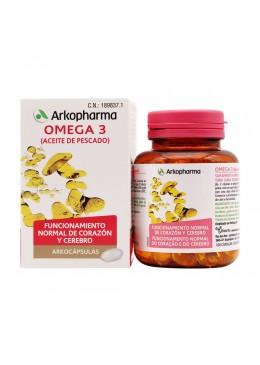 ARKOCAPSULAS OMEGA 3 ACEITE DE PESCADO 100 CAPSULAS 189837 Colesterol- Ácidos grasos