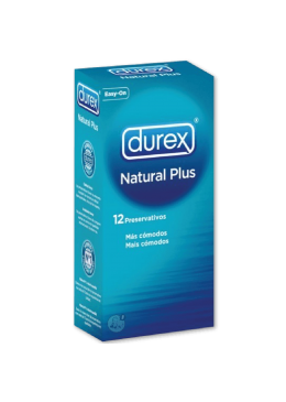 DUREX NATURAL PLUS 12 U 363192 Preservativos
