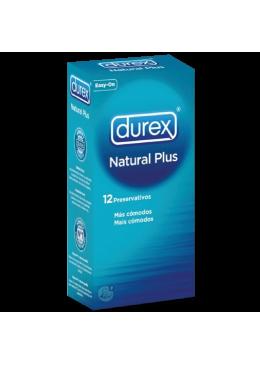 DUREX NATURAL PLUS 12 U 363192 Preservativos