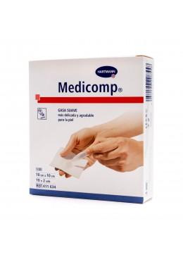 GASA ESTERIL SUAVE 10X10 CM MEDICOMP 20 U 170436 Cortes-Heridas-Quemaduras