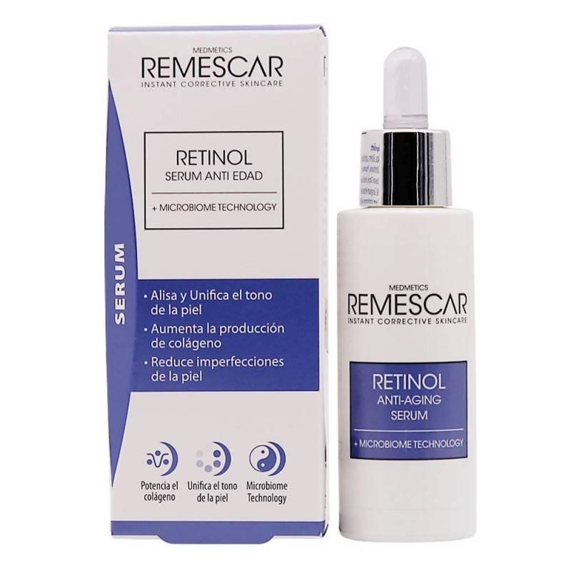 REMESCAR RETINOL SERUM ANTI EDAD 30 ML 196858 Antioxidantes Naturales