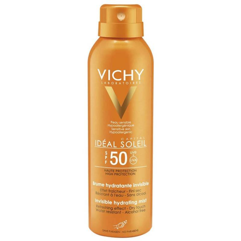 VICHY SPF50 BRUMA HIDRAT.INVISIBLE SPRAY 200 ML 169589 Protector solar