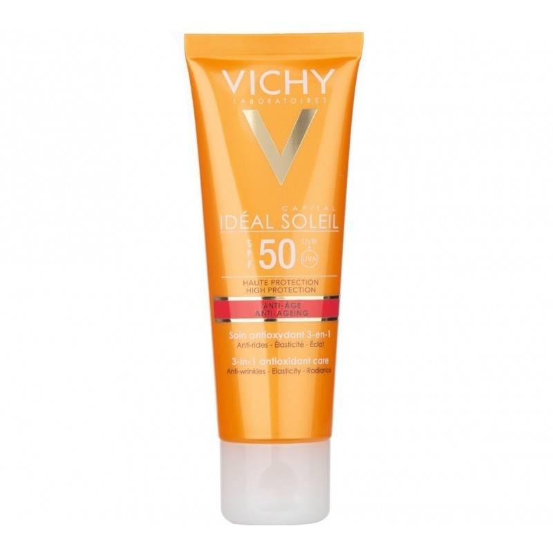 VICHY SOLAR SPF 50 ANTI EDAD 50 ML 185703 Protector solar