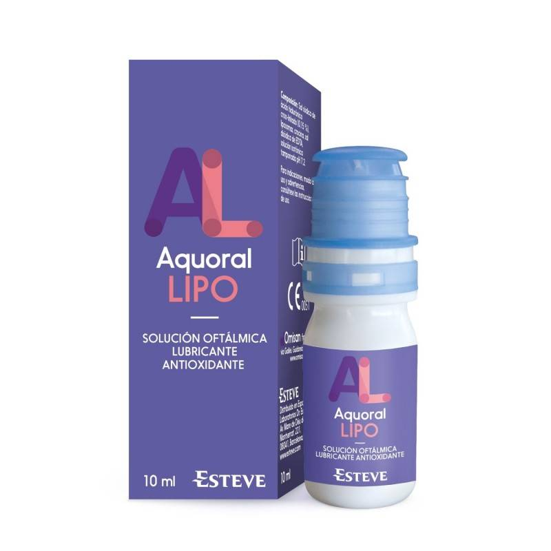 AQUORAL LIPO GOTAS OFTALMICAS LUBRICANTES ESTERILES 188127 Hidratación e Higiene