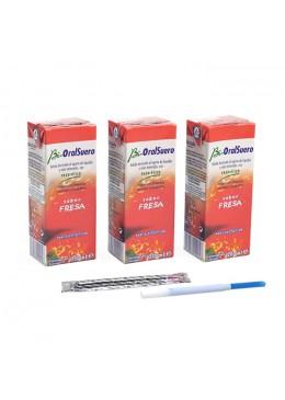 BIORALSUERO FRESA 3 X 200 ML 399204 Barritas - Bebidas -Deporte