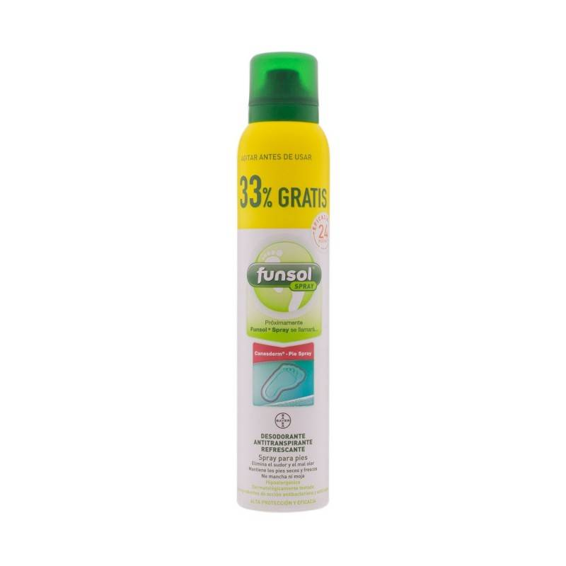 FUNSOL DESODORANTE PIES SPRAY 150 ML. 269925 Pies y Piernas