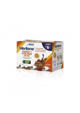 MERITENE FUERZA Y VITALIDAD DRINK PACK CHOCOLATE 195152 COMPLEMENTOS NUTRICIONALES