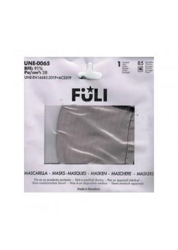 MASCARILLA FULI BRAID PALE T-GRANDE 030069 PROTECCIÓN CORONAVIRUS