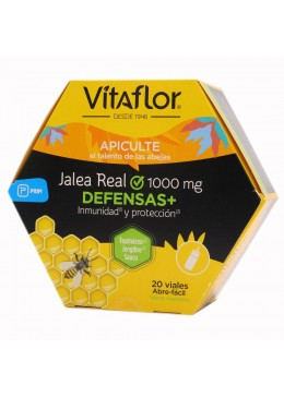 VITAFLOR JALEA REAL DEFENSAS + PROPOLIS 20 VIALES 161451 Defensas - Resfriado