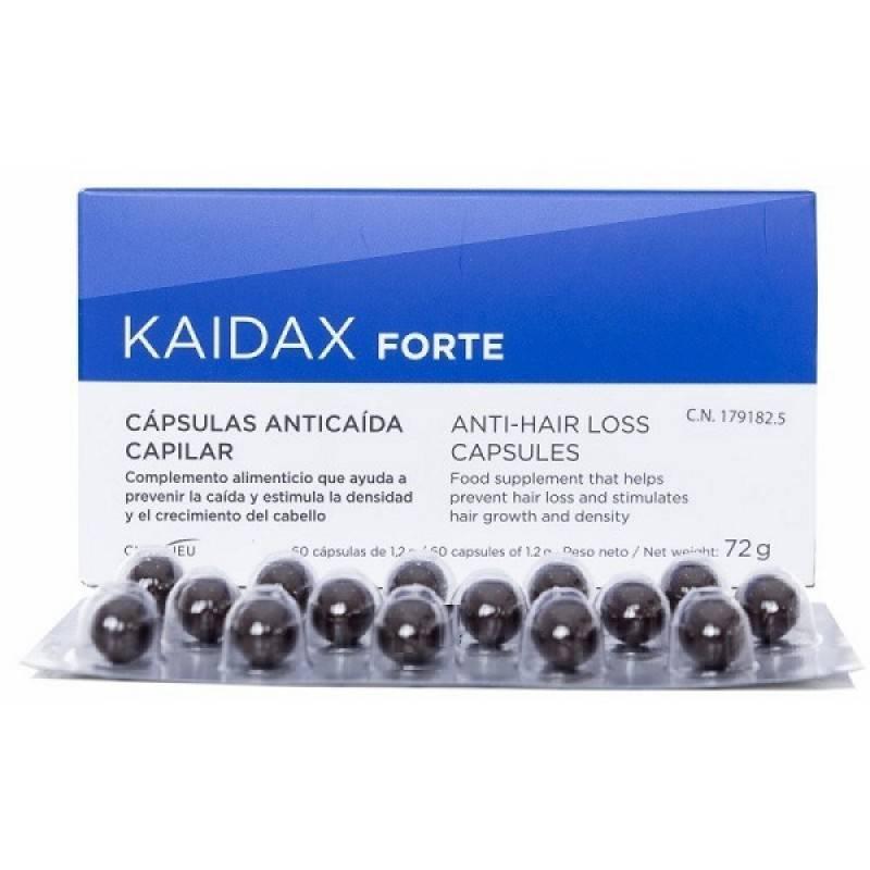 KAIDAX FORTE ANTICAIDA CAPILAR 60 CAPSULAS 179182 HIGIENE- CUIDADO CAPILAR
