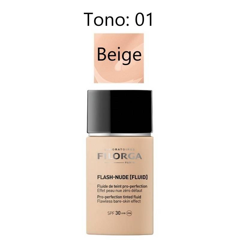 FILORGA FLASH-NUDE [FLUID] 01 NUDE BEIGE 30 ML 001166 Maquillaje