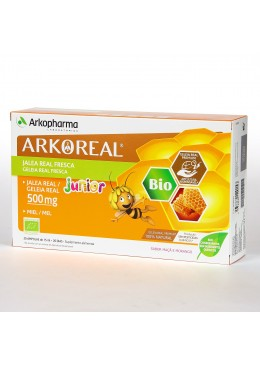 ARKOREAL JALEA REAL FRESCA JUNIOR BIO 500 mg 20 AMPOLLAS 363655 Defensas - Resfriado