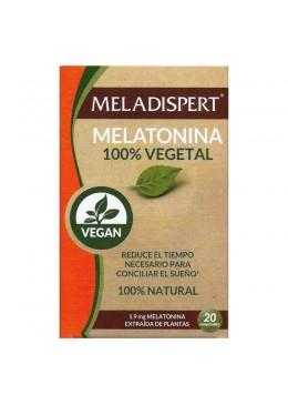 MELADISPERT MELATONINA 100% VEGETAL 20 COMPRIMID 200726 Estrés- Sueño