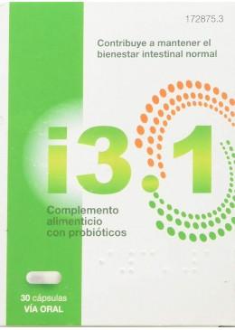 I3.1 PROBIOTICOS 30 CAPSULAS 172875 COMPLEMENTOS NUTRICIONALES