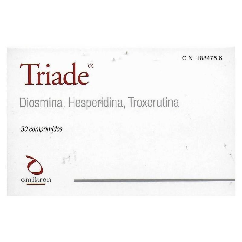 TRIADE 30 COMPRIMIDOS 188475 SIN ASIGNAR