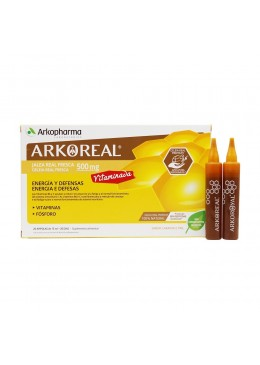 ARKOREAL JALEA REAL FRESCA VITAMINADA 500 20 AMPOLLAS 162750 Defensas - Resfriado