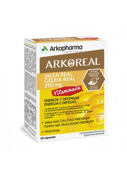 ARKOREAL JALEA REAL VITAMINADA 30 CAPSULAS 204057 Defensas - Resfriado