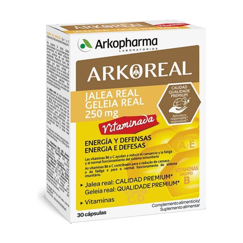 ARKOREAL JALEA REAL VITAMINADA 30 CAPSULAS 204057 Defensas - Resfriado