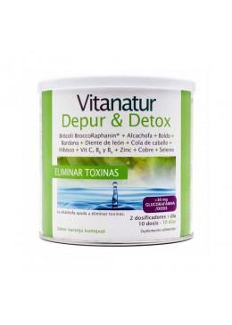 VITANATUR DEPUR & DETOX POLVO 200 GR 186583 Antioxidantes Naturales
