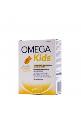 OMEGAKIDS GUMMIES 45 GOMINOLAS 185054 COMPLEMENTOS NUTRICIONALES