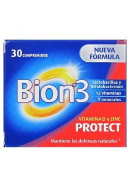 BION3 PROTECT 30 COMPRIMIDOS 196433 COMPLEMENTOS NUTRICIONALES