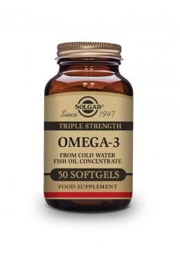 SOLGAR OMEGA 3 TRIPLE CONCENTRACION 100 CAPSULAS 091826 COMPLEMENTOS NUTRICIONALES