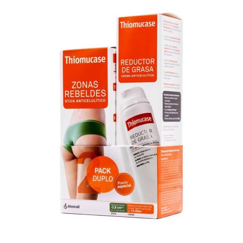 THIOMUCASE KIT STICK 75 ML + CREMA 200 ML 176374 Anticelulíticos- Reductores