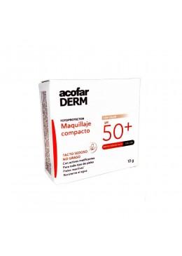 ACOFARDERM SPF 50+ MAQUILLAJE COMPACTO 10 G 155373 Maquillaje