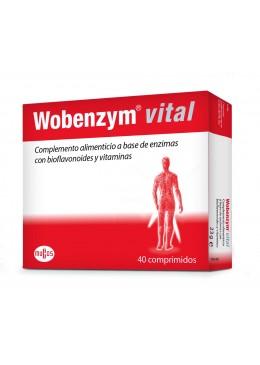 WOBENZYM VITAL 40 COMPRIMIDOS 162935 Articulaciones- Huesos