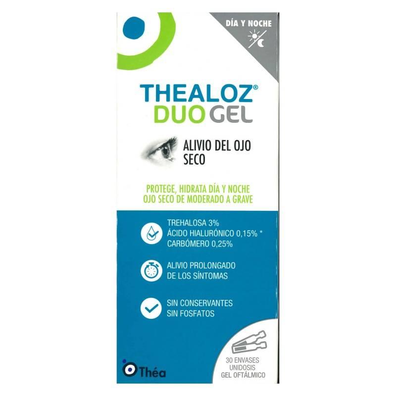 THEALOZ DUO GEL ESTERIL UNIDOSIS 0.4 ML 30 UNIDO 176049 Hidratación e Higiene