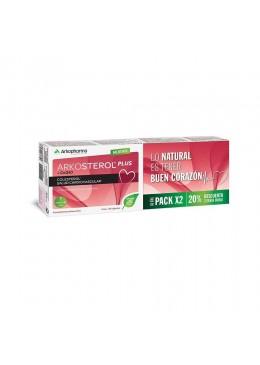 ARKOSTEROL PLUS DUPLO 2 X 30 CAPSULAS 204259 Colesterol- Ácidos grasos