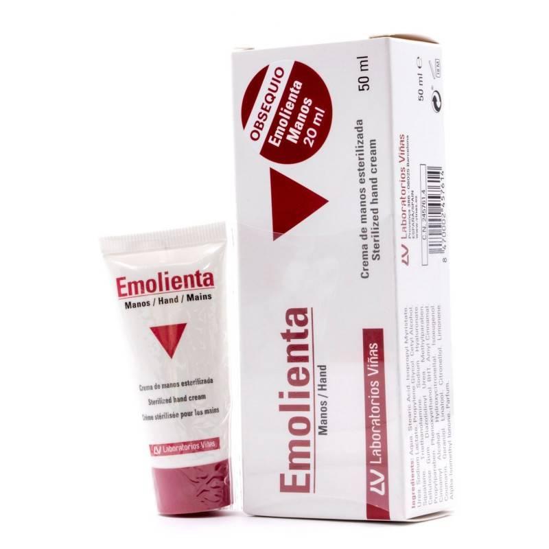 EMOLIENTA CREMA DE MANOS 50ML+20ML 095018 Manos - Uñas