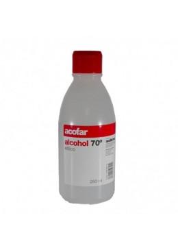 ALCOHOL 70º 250ML ACOFAR 152791 Cortes-Heridas-Quemaduras