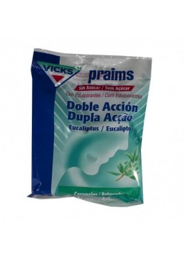 VICKS PRAIMS DOBLE ACCION SIN AZUCAR 60 G 238626 Garganta - Afonía