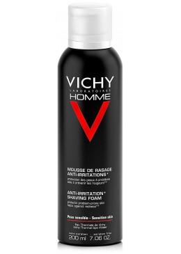VICHY HOMME ESPUMA DE AFEITAR P SENSIBLE 200 ML 361626 Afeitado