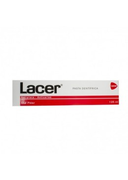 LACER PASTA DENTIFRICA 125 ML 391847 Dentífricos - Enjuages