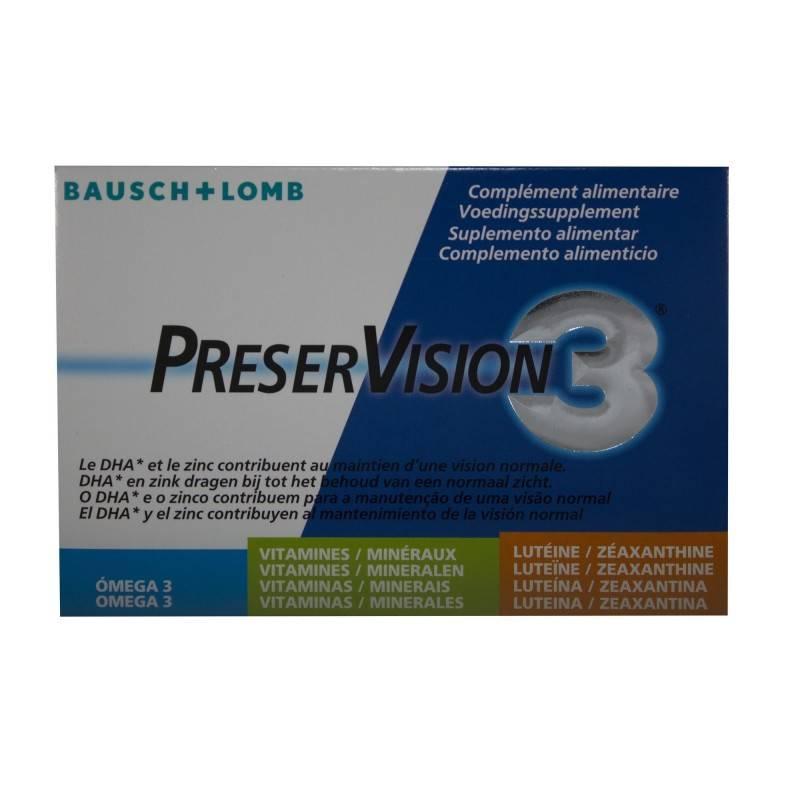 PRESERVISION 3 60 CAPS 154065 Ojos