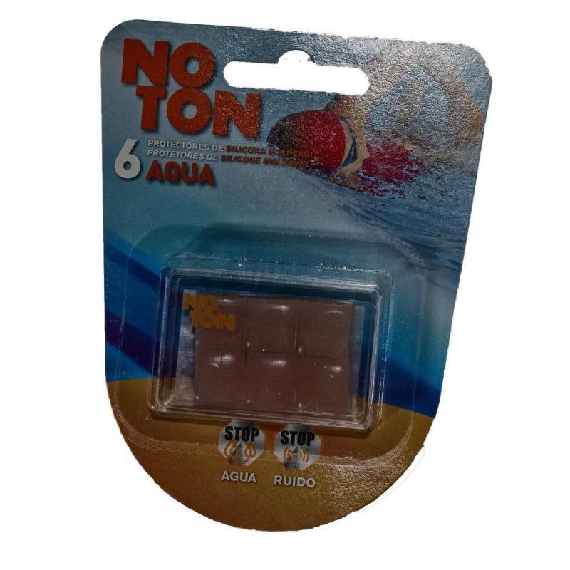 NOTON TAPONES OIDOS SILICONA 6 U 154980 Efectos-Material