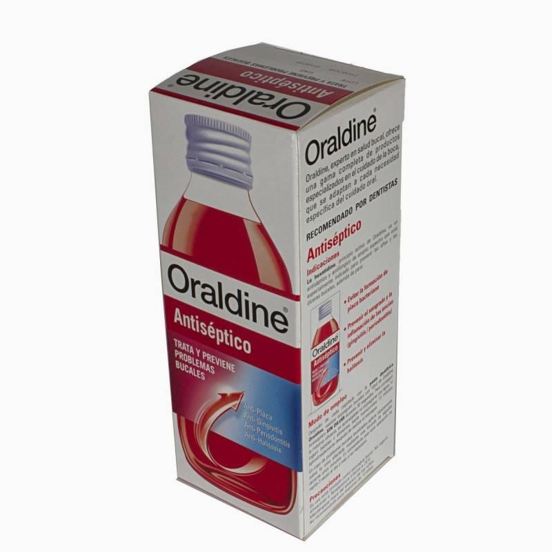 ORALDINE 400 ML 157170 Dentífricos - Enjuages