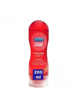 DUREX PLAY MASSAGE 2 EN 1 ESTIMULANTE 200 ML 158473 Lubricantes