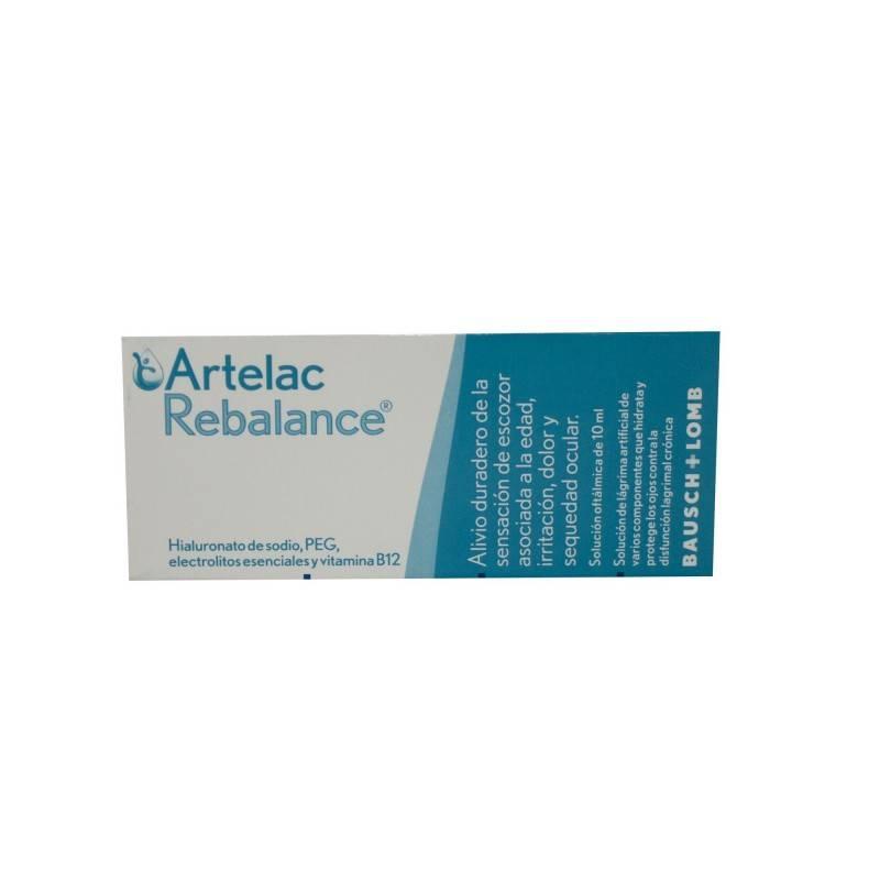 ARTELAC REBALANCE GOTAS OCULARES ESTERILES 10 ML 161681 Hidratación e Higiene