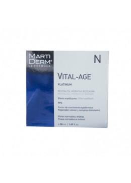 MARTIDERM VITAL AGE CREMA PIEL NORMAL Y MIXTA 50 ML 164273 COSMETICA FACIAL
